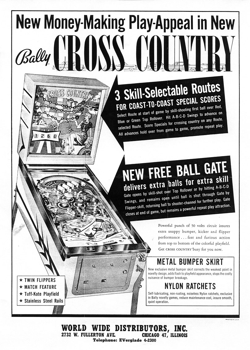 Bally Cross Country Flyer